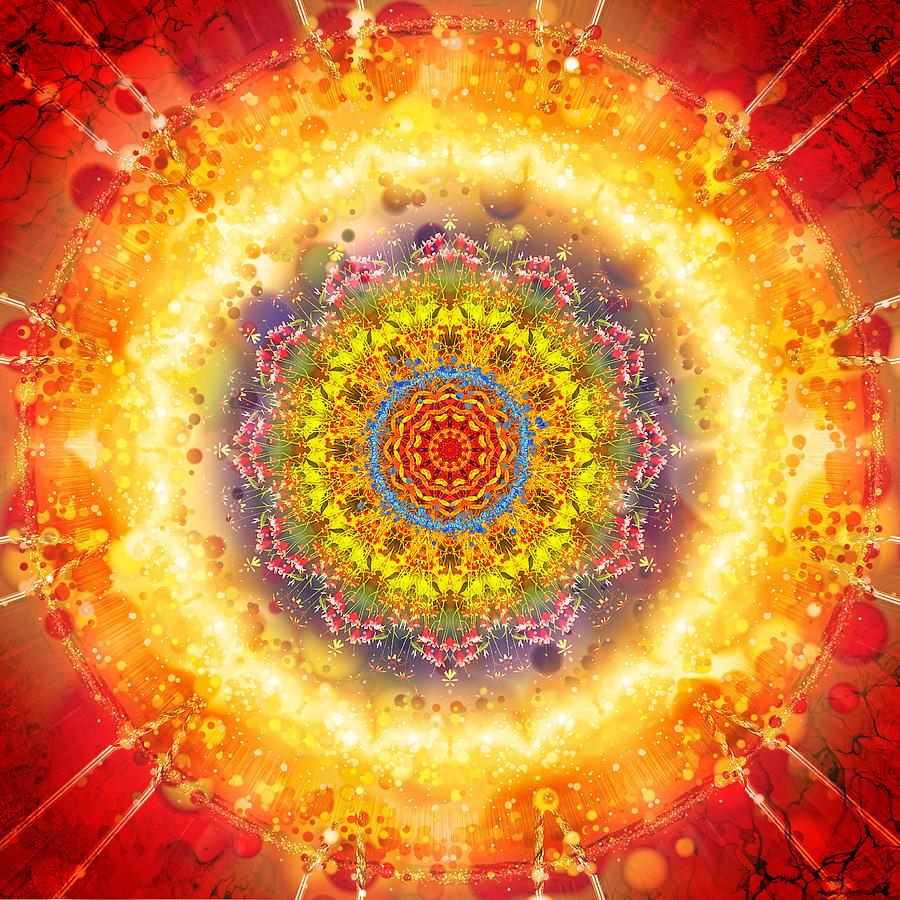 Flower chakra mandala gabriel sampad